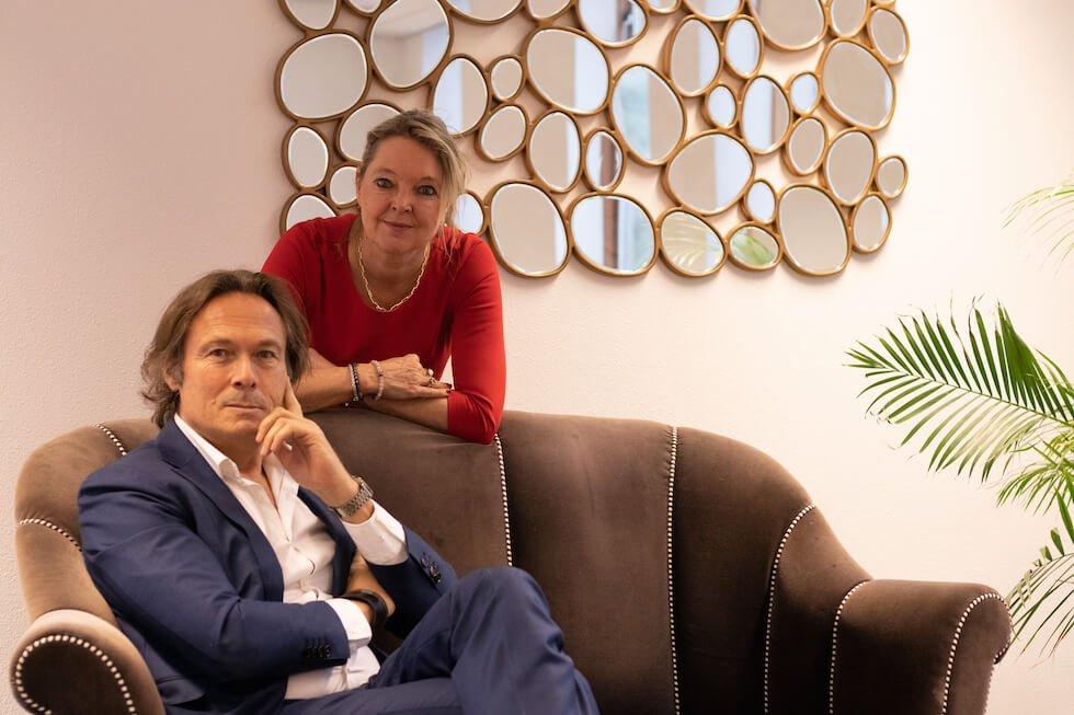 Henriette Verbeem en Frank van Veen van & Female Capital